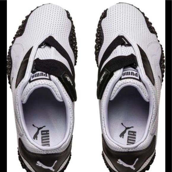 Puma Mostro Perf leather sneakers. M 5a7150de45b30c3c725eb489 fe5efd51a